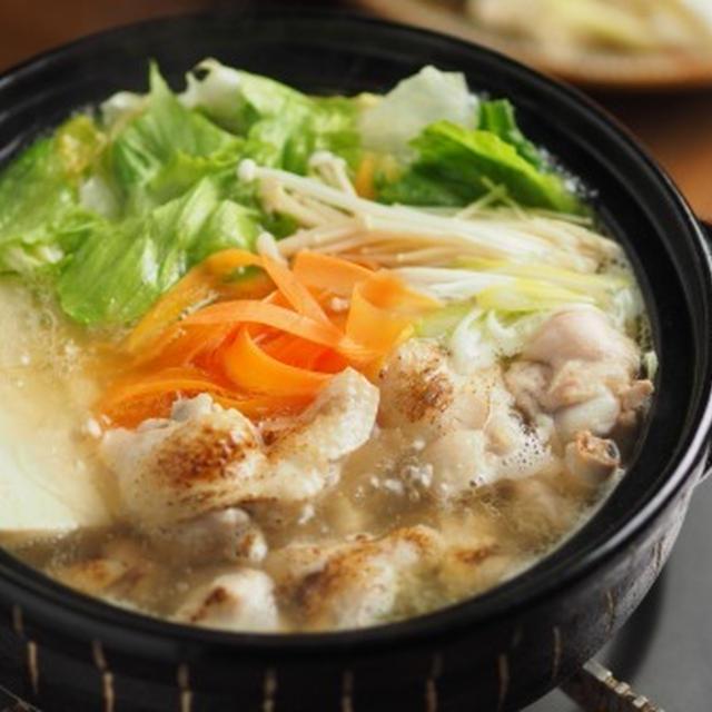 レタス水炊き 、 夏でも食べたい鍋料理