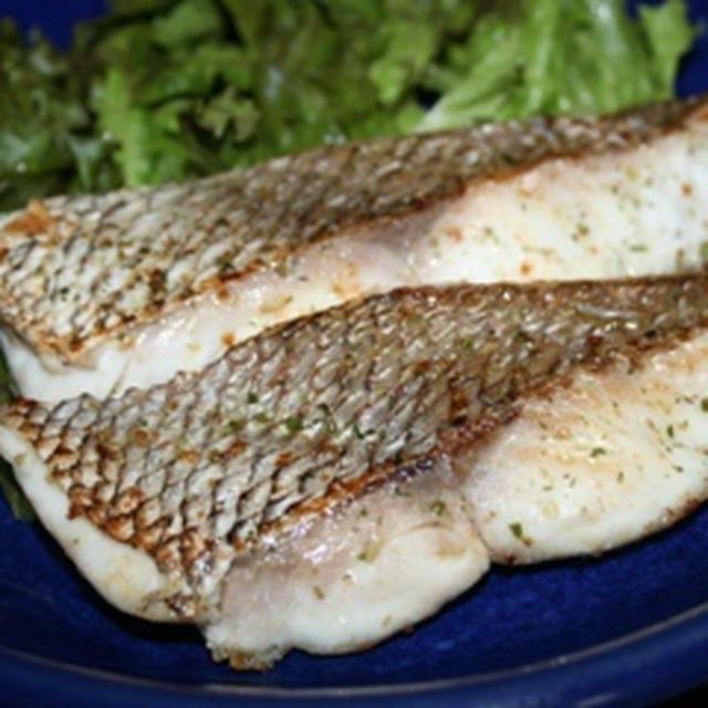 真鯛のハーブソルト焼き
