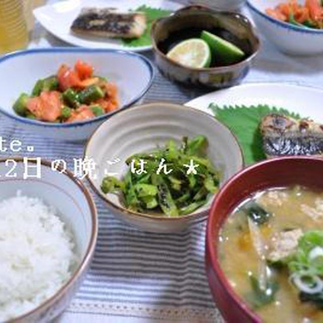 ふわふわ豚団子の具沢山お味噌汁*と今日のお弁当。