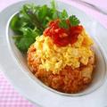 自家製トマトソース de 簡単チキンライス@ふわとろ卵のっけ♪ & レシピ本の撮影でした! by みぃさん