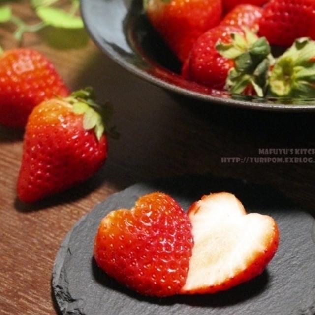 【ぎふベジ】いちご(美濃娘)編① ~ いちごのお話と知って損は無い美味しい食べ方、ハート苺の作り方。