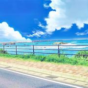 夏空がこいしくて…銚子の海ばーじょん♪