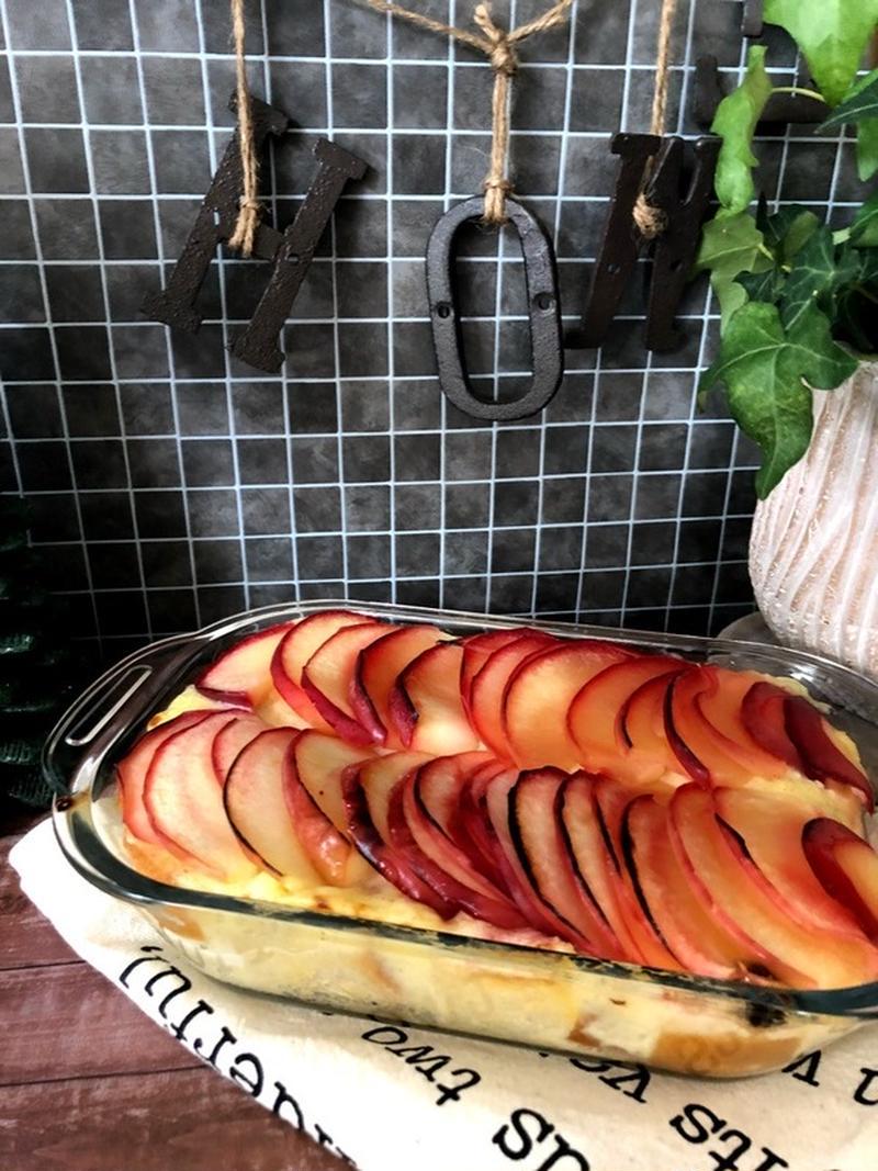 簡単に作れる!「りんごとレンチンカスタードのスイーツ」5選