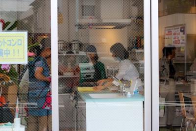 7月8日の料理教室