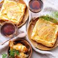 りんごとさつまいものパイ☆冷凍パイシートで簡単秋のスイーツ♪ by ひなちゅんさん