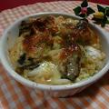 *レンジでホワイトソース☆牡蠣と白菜の豆乳グラタン* by 山女【ヤマメ】さん