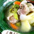 野菜と豚バラの旨味!塩麹の和風ポトフ