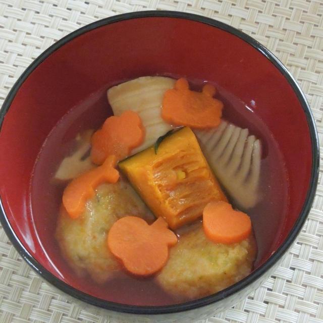 ◇もっちもち卯の花白玉野菜だんご