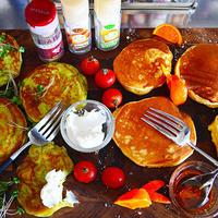 シナモンとメロンとアーモンドで 朝のちゃっちゃかお助けパンケーキ! スパイス大使