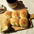 枝豆&チーズのちぎりパン @米粉使用で by outra_praiaさん