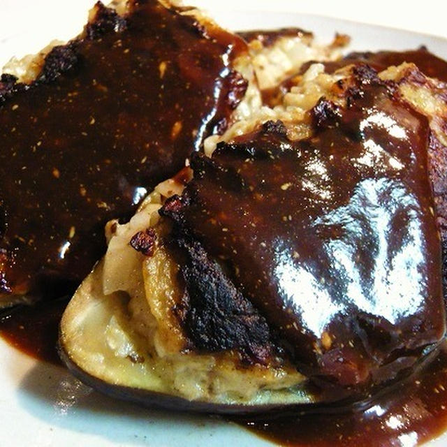 今が旬のなすのおいしさを存分に!旨みと栄養たっぷり!蒸し焼きでふっくらジューシー♪なすの肉詰め