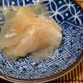 2021年のみかん亭の新生姜の甘酢漬けと、セラミックキッチン用品。