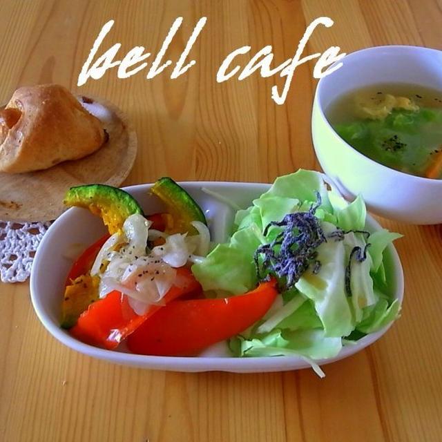 彩り野菜のグリル オニオンソース