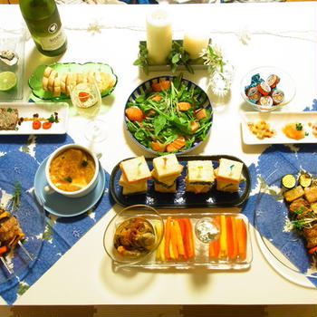 クリスマスのお家ご飯 2012