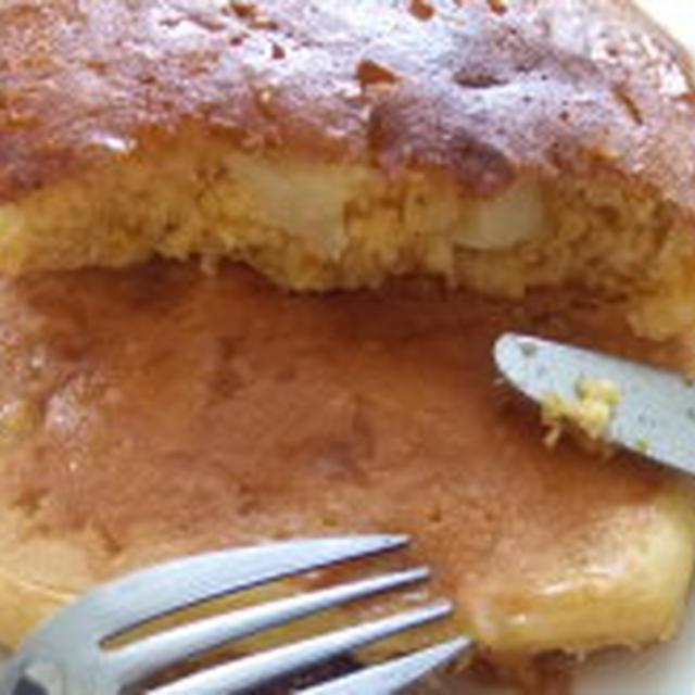 カボチャと林檎のパンケーキ