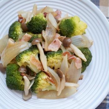 コンソメだけ!野菜とベーコンのあっさりコンソメ蒸し-簡単✻時短✻節約