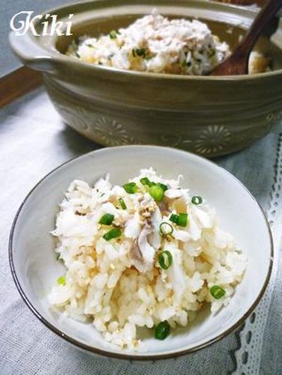土鍋de鯛飯*