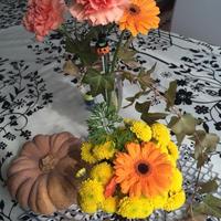 花と料理で楽しむ♪ハッピーハロウィン
