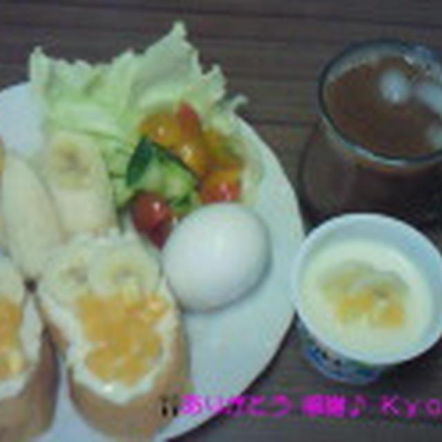 Good-morning Kyonのフルーツパンでモーニング~編じゃよ♪