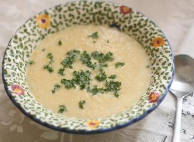 ストレス解消スープ♪夏の旬とうもろこしの冷製ポタージュスープ