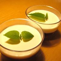 【美味安心のアイスティー】で白桃のゼリー
