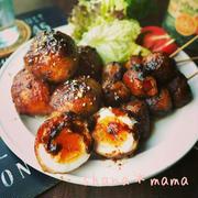 肉巻き色々~❤とおかわりがとまらない♪スタミナ肉巻き卵とトマト♪