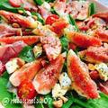 イチジクと生ハムのバルサミコ酢サラダ(動画レシピ)/Figs and Iberian ham salad.