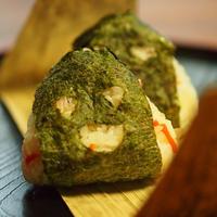 ハロウインおにぎり寿司と、秋刀魚の煮つけ