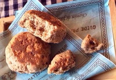 フライパンひとつで発酵無しクイックパン