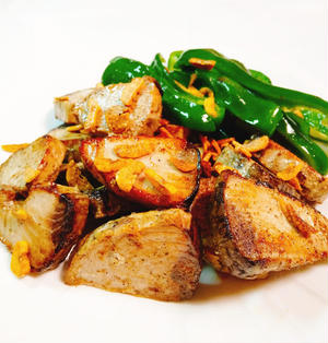 かつおのガーリックステーキ【一番シンプルで一番おいしい作り方】