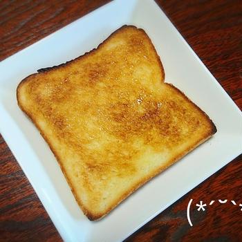 冷凍食パンでシュガートースト♪