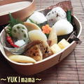 鯖の味噌煮のお弁当