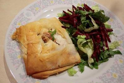 フィロで簡単、手抜きに見えないカフェメニュー ツナとほうれん草のチーズパイ