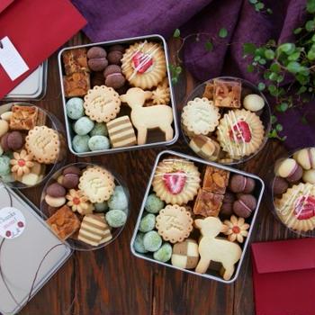 母の日と友人の誕生日プレゼント♪ #クッキー缶