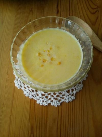 フレッシュコーンのスープ