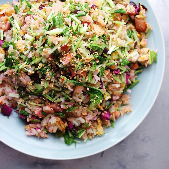 Mizuna Shiba Fried Rice