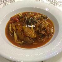 李錦記オイスターソース de 牛肉のトマト煮