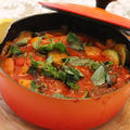 煮込みやパスタソースに♪ル・クルーゼで♪ハーブ香るトマト煮込み☆彡