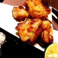美味しい塩で食べるよ!鶏のふんわり揚げ