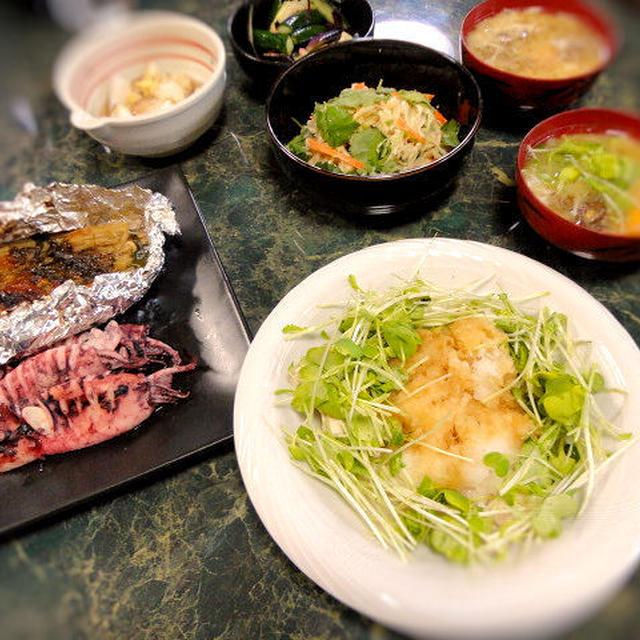 5月1日の献立は☆私の大好きなシンプル料理ばかりの全7品