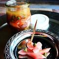 バルサミコとケイパーが決め手 漬けるだけ 簡単お洒落 バル風味な 新生姜漬け