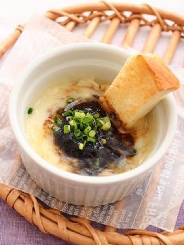 4.韓国海苔風カマンベールチーズフォンデュ