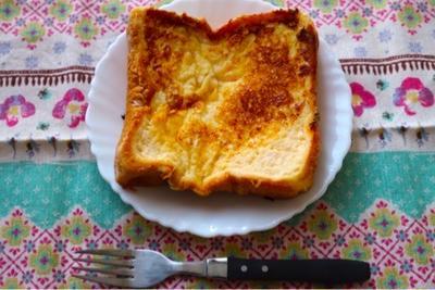 【お家朝ご飯】トロットロ♪フレンチトースト