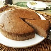 コーヒー×チョコレートのベイクドチーズケーキ