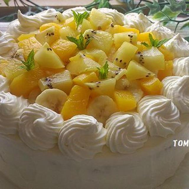 三男と次男の誕生日ケーキ