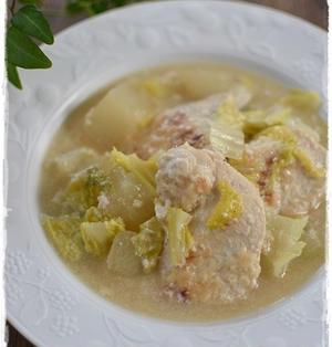 しっとり柔らか鶏むね肉と大根のクリーム煮