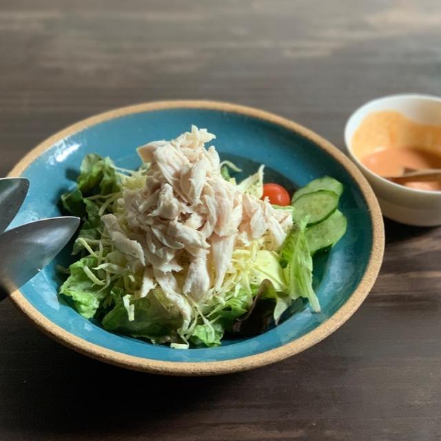 ボリューミーなケバブ風サラダ