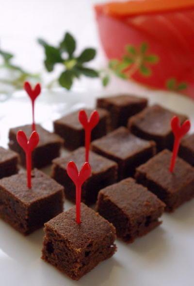 ルクエスチームケースで超簡単♪しっとりチョコレートケーキ
