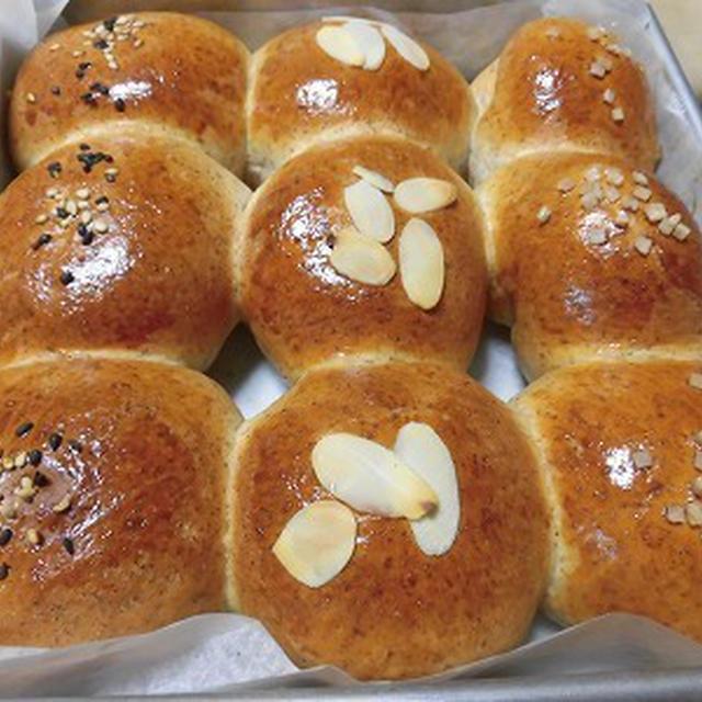 やっと小麦胚芽を見つけてちぎりパンを~
