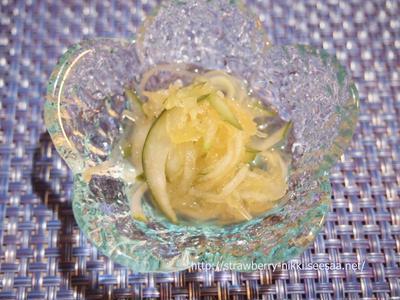 さっぱり糸瓜(そうめん南瓜)の酢の物レシピで夏バテ予防